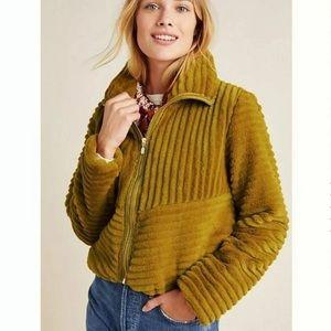 Anthropologie Women's Natasha Faux Fur Jacket